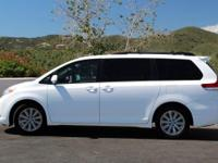 Sienna XLE 7 Passenger. White Beauty! Yes! Yes! Yes!