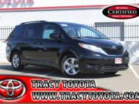 Take a look at this 2012 Toyota Sienna, all ready for