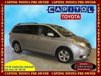 This 2012 Sienna offers a roomy and comfortable