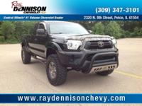 Black 2012 Toyota Tacoma 4WD 4-Speed Automatic with