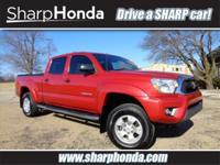 Barcelona Red Metallic 2012 Toyota Tacoma V6 4WD