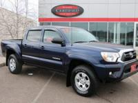 Certified. Nautical Blue Metallic 2012 Toyota Tacoma V6