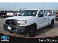 Meet our 2012 Toyota Tacoma Access Cab 4x2 shown in
