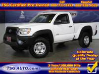 **** JUST IN FOLKS! THIS 2012 TOYOTA TACOMA HAS JUST