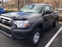 From mountains to mud, this Gray 2012 Toyota Tacoma ACC