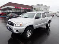 For a smoother ride, opt for this 2012 Toyota Tacoma