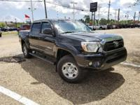 Black 2012 Toyota Tacoma PreRunner RWD 5-Speed
