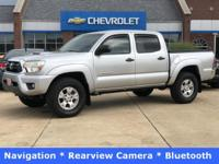 2012 Toyota Tacoma PreRunner V6 Silver Clean CARFAX.