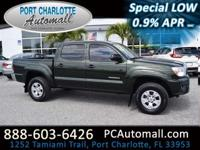 Our spectacular 2012 Toyota Tacoma Double Cab PreRunner