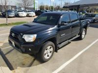 We are excited to offer this 2012 Toyota Tacoma. Only