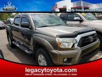 Clean CARFAX. TOYOTA CERTIFIED, Tacoma PreRunner V6, 4D