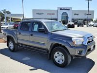 Options:  2012 Toyota Tacoma Prerunner V6 Double