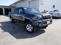 CARFAX One-Owner. Clean CARFAX. Gray 2012 Toyota Tacoma