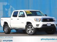 4WD. Recent Arrival! White 2012 Toyota Tacoma V6 4WD
