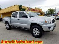 Options:  2012 Toyota Tacoma V6 4X4 4Dr Double Cab 5.0
