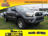 This 2012 Toyota Tacoma V6 boasts features like a