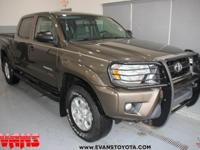 Certified. 2012 Toyota Tacoma V6 4WD 5-Speed Automatic