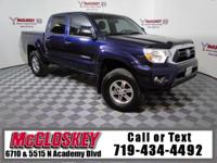 This Toyota Tacoma Double Cab SR5 4X4 is an absolutely