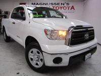 LOW MILEAGE! This clean 2012 Toyota Tundra double cab