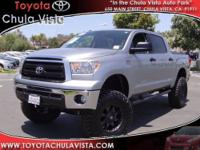 Need a LIFT? This 2012 TUNDRA has *OFFROAD TIRES,