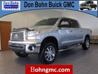 CARFAX 1 Owner 2012 TOYOTA TUNDRA 4WD TRUCK CREWMAX
