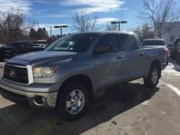 CREW MAX, TRD OFF ROAD, LOW MILES, SUNROOF, POWER SEAT,
