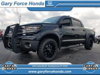 CARFAX One-Owner. Gray 2012 Toyota Tundra Grade CrewMax