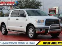 This Toyota Tundra has a powerful Gas V8 5.7L/346