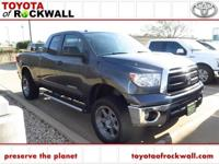 Clean CARFAX. Magnetic Gray Metallic 2012 Toyota Tundra