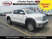 From work to weekends, this certified White 2012 Toyota
