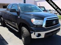 Clean CARFAX. 2012 Toyota Tundra Limited 4WD 6-Speed