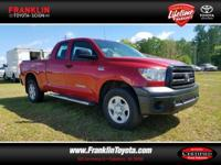 CARFAX One-Owner. Clean CARFAX. Bred 2012 Toyota Tundra