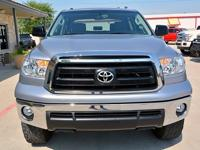 This 2012 Toyota Tundra CrewMax is powered by a 4.6L V8