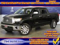 **** JUST IN FOLKS! THIS 2012 TOYOTA TUNDRA PLATINUM
