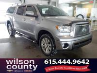2012 Toyota Tundra Limited i-Force 5.7L V8 DOHC Silver