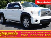 Clean CARFAX. This 2012 Toyota Tundra Limited in Super
