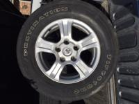 2012 Toyota Tundra Wheels and Tires. Tires are 18""
