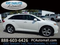 CARFAX One-Owner. Clean CARFAX. White 2012 Toyota Venza