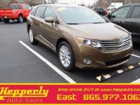 Clean CARFAX. This 2012 Toyota Venza LE in Gold