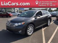 2012 Toyota Venza in Gray. Gasoline! Why pay more for