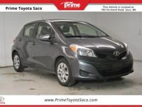 CARFAX One-Owner! 2012 Toyota Yaris LE in Magnetic Gray