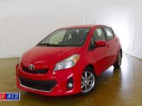 2012 Toyota Yaris L 5-Door AT, low Mileage Clean CAR