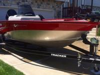 Very low hour fun multi species deep v fishing boat,