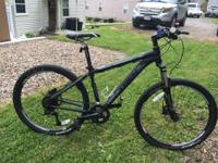 Up for sale is a 2012 TREK 4500 DISC 16in frame