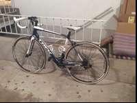 Great condition. Aluminum frame with carbon forks, 56cm