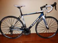 2012 Trek Madone 4.5 WSD-T road bike, 52 cm. Trek 400
