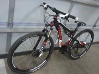 I have a 2012 trek superfly 100 AL mountain bike. Bike
