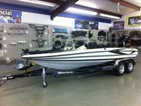 This is a listing for a new 2012 Triton boat with a 200