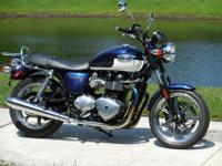 Thanks for taking a look at this lovely 2012 Triumph
