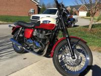 2012 Triumph Bonneville T100 (Excellent Condition)